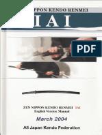 Iaido Manual