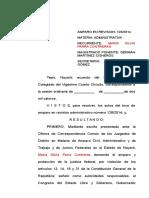 128-14 Silvia Parra Contreras-Vs Leyes- Con Proyecto