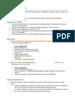 gopal krishna kc resume web