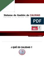 1. Calidad y La Norma ISO9001 Rev 0