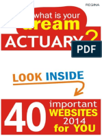 What is your dream Actuary?