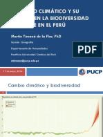 CC y Biodiversidad Terrestre Dr. Martin Timana PUCP PERU