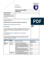 Student Only Part B HSDQM Software Development Quality Management Assessment Checklist (R) (2)