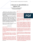 Evaluacion de vulnerabilidades en paginas web