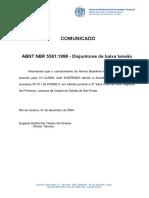 ABNT NBR 5361 - Disjuntores De Baixa Tensao.pdf