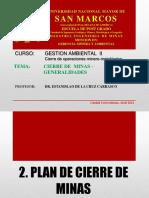 2.Capitulo i Cierre de Minas Generalidades