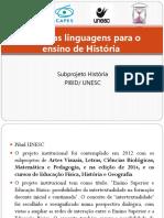 Apresentação PIBID Ibero