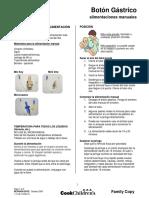 CCHH Enteral BotonGastrico-AlimentacionesManuales