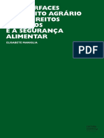 As Interfaces Do Direito Agrário e Dos Direitos Humanos e a Segurança Alimentar - Elisabete Maniglia._copiapdf