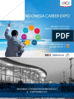 Proposal INDONESIA CAREER EXPO - Career Exhibition (Recruitment & Company Branding) @ICE BSDCity