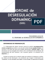 Síndrome de Desregulación Dopamínica