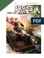 Shingeki No Kyojin - Tomo 15- Absorbiendo Mangas