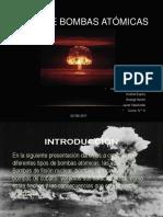 Tipos de Bombas Atómicas