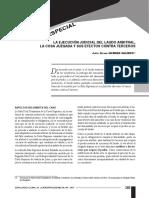 La ejecucion judicial del laudo....pdf