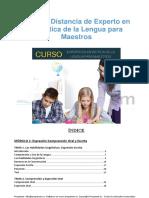 Curso de Experto en Didáctica de La Lengua Para Maestros