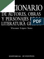 Diccionario de Autores Obras Y - Vicente Lopez