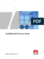 Huawei Watch User Guide 01 English