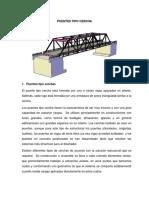 Puentes Tipo Cercha