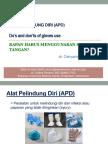 Sarung Tangan Kapan Harus Dipakai_dr.cahyarini,SP.mk