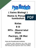 Unsur Makalah Biologi Bab Hama & Penyakit Tumbuhan