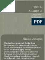FISIKA fluida dinamis