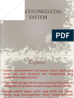 Praktikum 4. Musculoskeletal System A