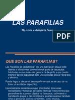parafilias PSICOPATOLOGIA