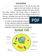 Cells Revision