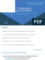 Enterprise IT Transformation With Brokerage and Gravitant_7274
