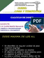 Calculo de Dosis - A.l