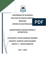 Quimioterapia-Antibioticos Mas Preguntas