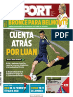 Sport 8 Agosto 2016 - Sport