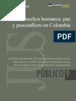 Derechos Humanos Paz y Posconflicto en Colombia