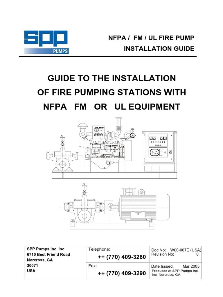 Manual de Instalación   SPP Pumps Inc.   Pump   Valve