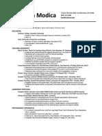 modica angelina resume pdf