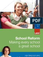 School Reform - Making Every School a Great School