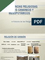 Creencias Religiosas de Los Cananeos y Mesopotámicos