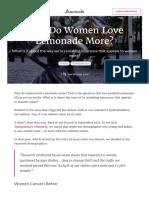Why Do Women Love Lemonade More_ _ Lemonade Blog