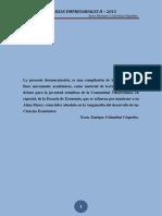 Finanzas Empresariales II - 2015