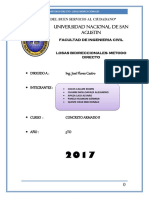 Informe Metodo Directo