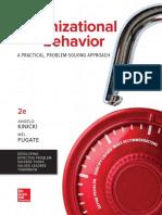 Kinicki - Organizational Behavior_ a Practical Problem-Solving Approach 2nd Edition c2018 Txtbk