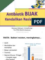 EAntibiotik Bijak Kendalikan Resistensi_Rakerda IAI Jatim 2015