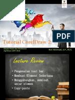15th Lecture TIK 2016 Corel Draw 2.0 TEXT n IMAGE