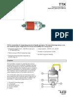 Regin TTK Water Pressure Transmitter