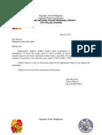 Format Medico Legal Request