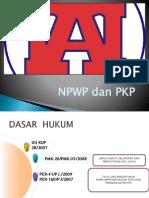 4 NPWP dan PKP