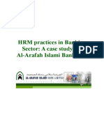 HRM Practices in Banking Sector