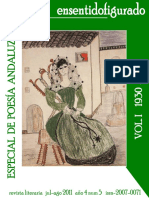Antologia de Poesía Andaluza en Sentido Figurado-I
