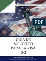 Guia de Solicitud Para La Visa b 2 Es