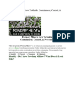 Powdery Mildew How to Guide